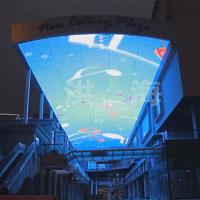 LED天幕方案案例效果图片