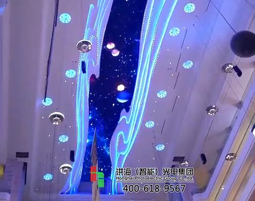 led天幕屏新型商业地标街景的又一种视觉体验图片
