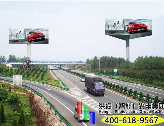 高速单立柱广告牌制作需要注意哪些图片