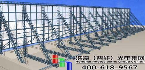户外三面翻广告牌钢结构的使用方法与要求图片