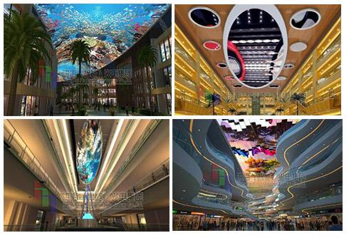 LED天幕屏的基本特点以及场景应用图片