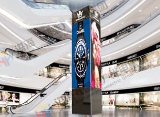 LED旋转屏优势与特点,高铁站、飞机场、商场是否适合?