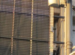 洪海德国式机械幕墙产品   黑+高科技产品,德国工艺机械幕墙!