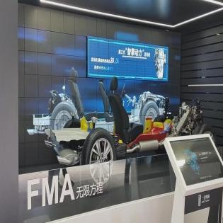 多维波浪屏|多维元素矩阵屏| 极限矩阵一体机换屏