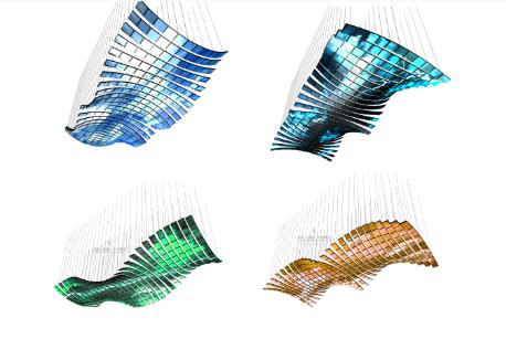 悬浮天幕制作效果图片