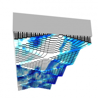 5D矩阵天幕|网红天幕|雪花天幕
