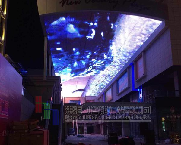 广东led天幕案例