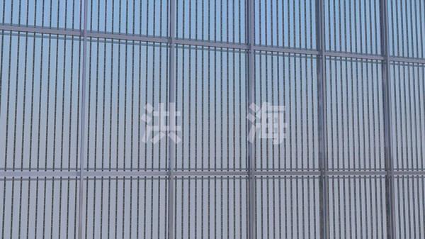 玻璃幕墙彩屏方案