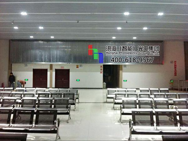 安徽亳州室内三面翻墙体广告牌