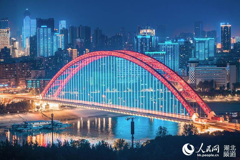 武汉国庆灯光秀