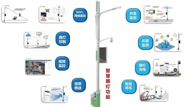 5G智慧路灯杆
