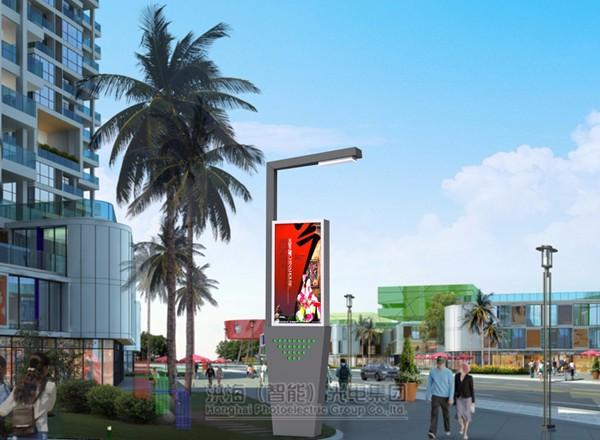 城市景观灯/广告装饰灯效果图