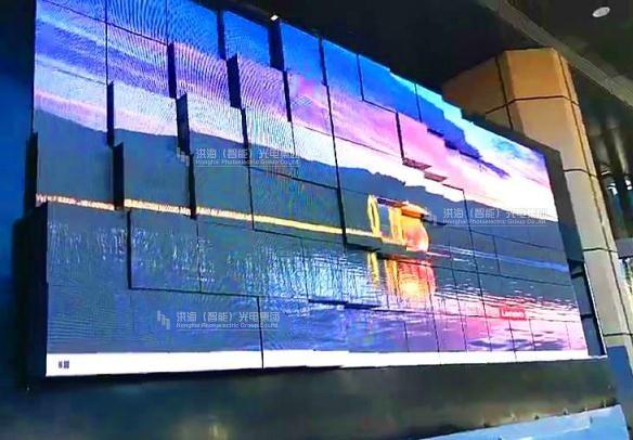 矩阵伸缩屏-矩阵天幕屏效果图